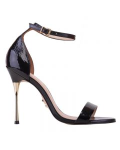 Carrano Hayle Stilleto Sandal - Black