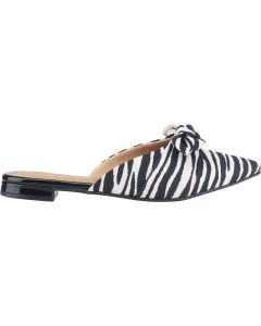 Love Rio Mule Canvas Zebra Print